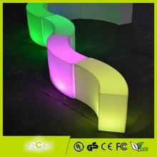 Colorful ajustable Night Club brillante muebles de color