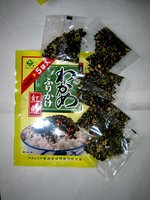 Seasoned Wakame powder with Salmon fish grain Seasoned Wakame powder with Salmon fish grain