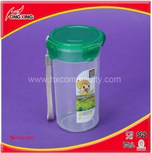 Round shape 400ml drink infuser bottle with tea fliter