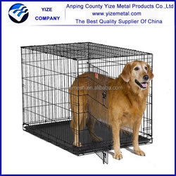 Expandable Small Animal Playpen/Stainless Steel Dog Cage