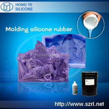 Liquid silicone to mouldings architectural stone -- Any packing you want