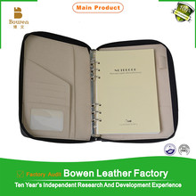 Top Grain Quality Leather Ring Binder/ Ring Binder/ Presentation File Folder