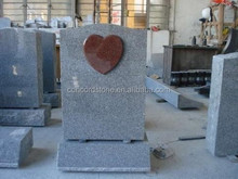india red heart shaped gravestone