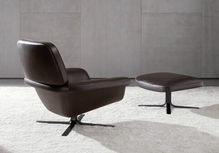 Blake Soft Chair Ottoman Cc Lc01 Design By Rodolfo