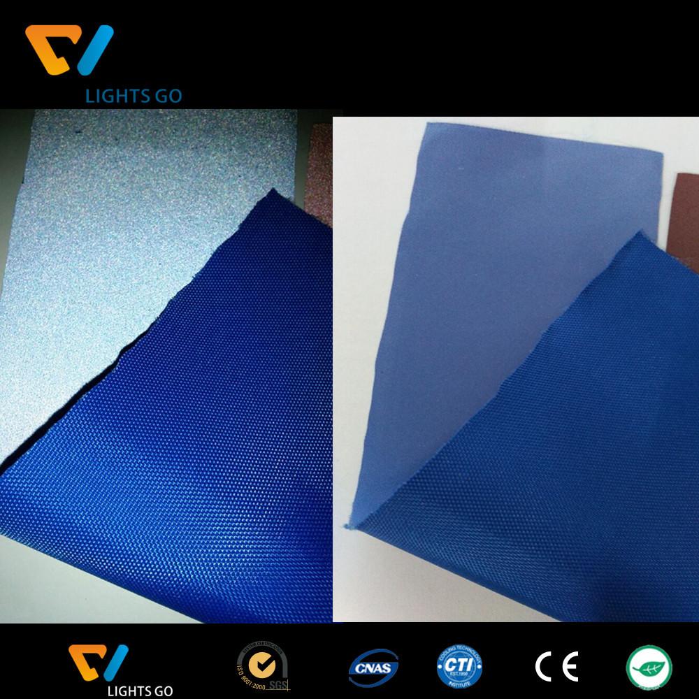 600D reflective fabric blue