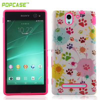 TPU PC case for sony xperia c3