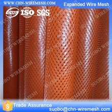 Expanded Metal Bridge Fence Expanded Iron Mesh Electric Diamond Fabric