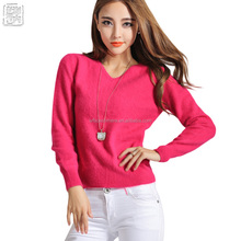 soft warm knitting pullovers for women on sale