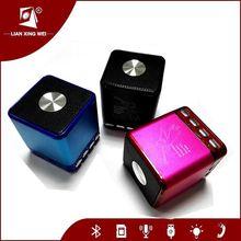 Bluetooth speaker microphone portable speaker support usb flash drive fm radio