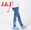ขายใหม่ร้อนการออกแบบเล็กๆน้อยๆสาวคาวบอยกางเกงที่เดินทางมาพักผ่อนoemขายส่งหลวมdenims