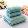 100% Cotton Terry Stripe Towelling Fabrics Wholesale Striped Terry Towelling Fabric