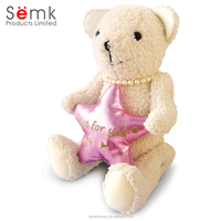 Gifts & toys for kids and girlfriend custom talking plush bear toys