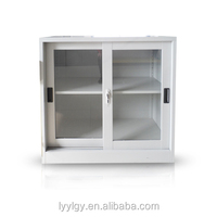 commercial office furniture low price high quality small sliding door cabinet
