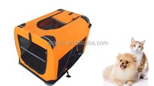Large travel kennel portable crate soft dog big portable folding dog cage