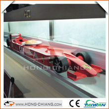 automatic food transport system - Formula 1 car delivery