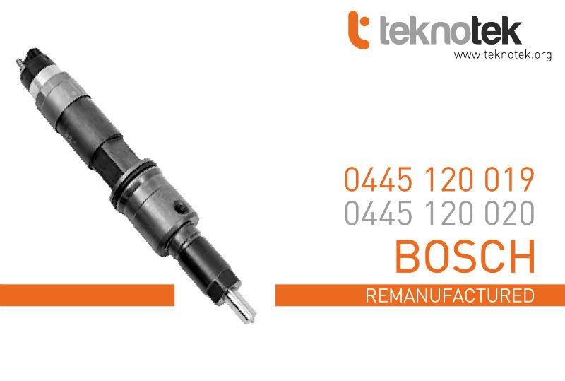 Renault inyector - 0445120019 ( 0445120020 ) ( BOSCH )
