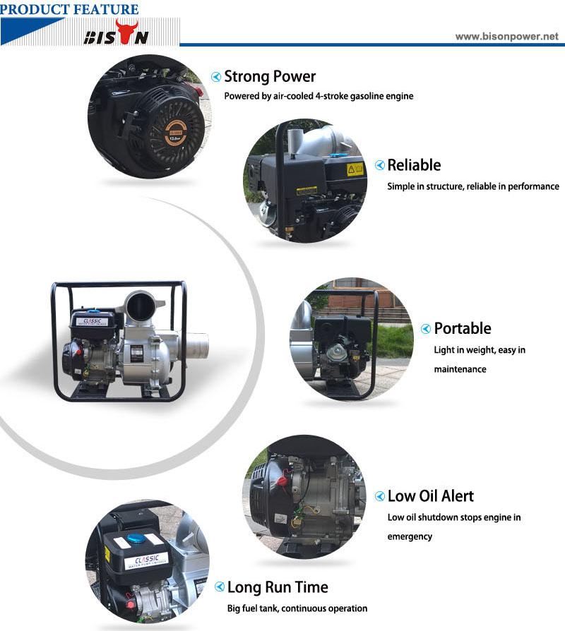 6 inch Gasoline Engine Water Pump BS60 8
