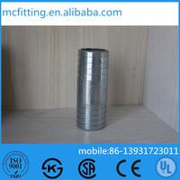 galvanized steel pipe fitting hydraulic hose nipple