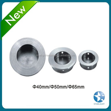 Different size round circle concealed handle for cabinet