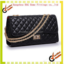 Hot New Products for 2015, Quilted Leather Chain Bag,Ladies Shoulder Bags