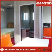 insulated low cost prefabricated living bamboo garden house
