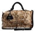 Peau de python sacs à main des femmes célèbres marques, peau de serpent pu sac sac femme marque