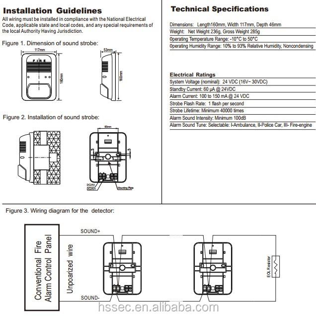 35 Fire Alarm Horn Strobe Wiring Diagram