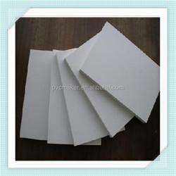 Green 2015 hot sale furniture material 4x8 ft hard pvc foam sheet