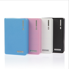 Colorful portable wallet power bank for samsung power bank 20000mah power bank 12000mah