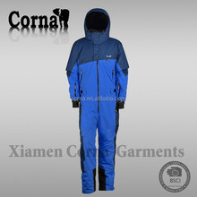 Specialized various color warm keeping hoodie coveralls 100 polyester pants