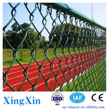 Alibaba outdoor fence temporary, Wrapped Type Chain Link Fence, Chain Link Fence Weaving Mesh (Pd - 031)