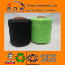 colorido hilo de algodón de reciclaje para la tela de la cortina / trapos de algodón / tipos de estambre tejido de punto / hilo