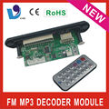 Vtf-109c usb radio mp3 decodificador tablero del pwb