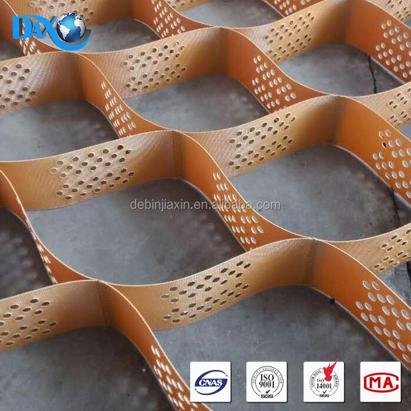 hdpe geocell utilis dans la construction de routes gravier grille geocell stabilisateur de. Black Bedroom Furniture Sets. Home Design Ideas