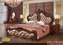king size canopy bedroom sets royal luxury bed hot sale american style laddy's dresser