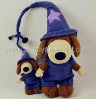Customizable plush parent and child toys