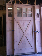 Craftsman Entry Doors and Mission Style Doors Solid Mahogany