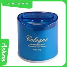 Blue gel freshener hot style blue air freshener with logo printing AS-072
