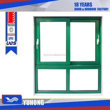 Energy efficient standard low-e glass aluminum sliding window