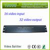 Video Distributor for CCTV system 16in 32 out av audio video splitter