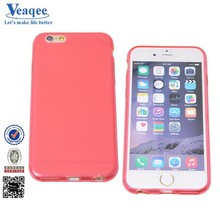 Veaqee new disign cell phone back cover clear TPU case for iphone