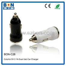 2015 New Products 5V 2A US/EU/UK type 2 Port trickle car battery charger for Car charger