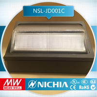 free sample 5700k 100w led lights lamps outoor lighting 5years cul dlc led wall packs ul, exterior acp wall panels