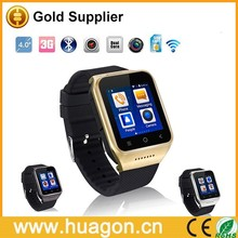 Android 4.4 Dual Core Gear Smart Watch Phone Wrist Wrap Watch Phone,1.54inch LG Multi-point Touch Screen,3G WCDMA,Bluetooth 4.0,