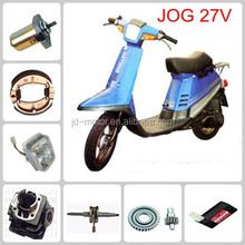 JOG 27V for yamah motorcycle parts rear wheel/front rim/guard comp/speedometer gear/Seat assy to South America market China
