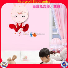 2014 China Supplier electric digital wall clock wall clock movement wall clock dials