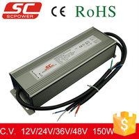 KV-12150-A-DIM 0-10V dimmable 220v 12v constant voltage ip66 led driver 150w