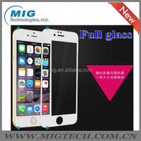 New Arrival ! Newest 9h 2.5d Tempered Glass Screen Film Guard For Iphone 6/6plus With Slik Print Colorful Side