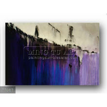 Handmade new modern abstract Oil painting on canvas, Purple & Blue Painting Acrylic Wall Decor Modern Art