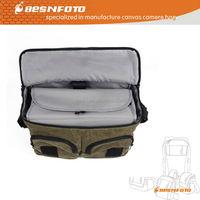 Best Waterproof Canvas Camera Shoulder Bag for DSLR SLR Notebook computer